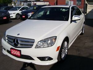 2008 Mercedes-Benz C-Class 2.5L/4 MATIC/BLUETOOTH