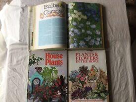 THREE HARDBACK GARDENING BOOKS