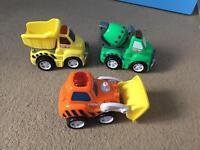 3 x trucks