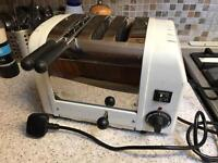 Dualit 2 slice + toasties slot