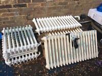 Cast iron radiators x6