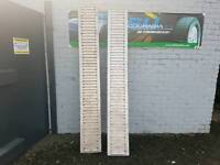 Genuine ifor williams 8ft aluminium trailer loading ramps