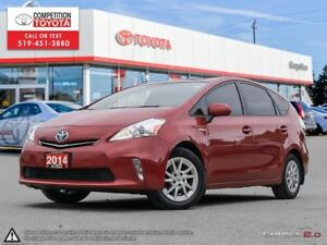 2014 Toyota Prius v One Owner, No Accidents, Toyota Serviced