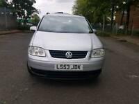 Volkswagen Touran 2003 7Seater 1.9 tdi se