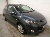 MAZDA 2 , 2012 , ONLY 30000 MILES + FULL HISTORY, YEARS MOT, FINANCE AVAILABLE, WARRANTY, IMMACULATE