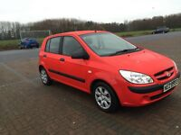 07 HYUNDAI GETZ GSI ONLY 56,000 MILES!!*BARGAIN* LOW TAX AND INSURANCE!!MINT!BARGAIN!!c2,207,c3