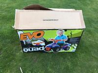 New never used Evo Quad Bike
