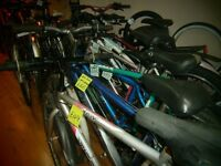Used Bike from £40, Bicycle repairs from £5, Second hand cycle parts, bikes tyre, 261 Newmarket Rd