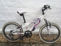 "Girls 20"" bike - Dawes red tail"