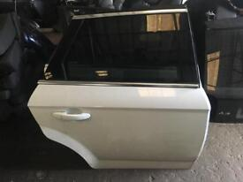 2013 Ford Mondeo estate mk4 driver side rear door in white colour