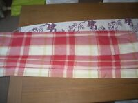 BUXTON CHECK ROMAN BLIND MADE BY LAURA ASHLEY