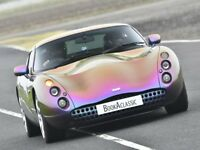 TVR Tuscan S - Chauffeured Supercar Sports Car Convertible Hire for Wedding / Prom / Party