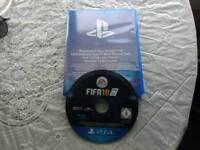 FIFA 18 for the PS4 swap