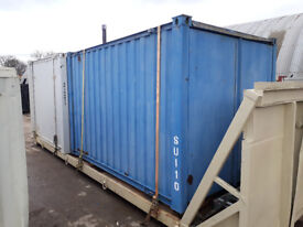 12ft Site Store / Shipping Container - 2 available