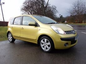 2007 07 NISSAN NOTE 1.6 SVE AUTO METALLIC GOLD