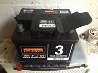 Halfords Car Battery HB063