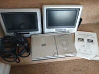 FREE In-car DVD player with two screens - not working