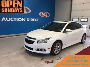 2013 Chevrolet Cruze LT Turbo LEATHER! SUNROOF! FINANCE NOW!