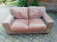 Brown sofa. Good condition FREE!