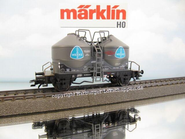 """H0 - Märklin 46619 Güterwagen Silowagen Kds54 """"Quarz Werke"""" DB Epoche:III NEU"""