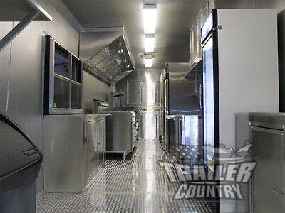New 8.5x30 8.5 X 30 V-nosed Enclosed Concession Food Vending Bbq Trailer