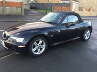 BMW z3 1.8 Roadster, 1 year MOT, Very Clean, Drives Good £1400 ono