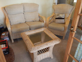 2 seater sofa ,armchair and coffee table