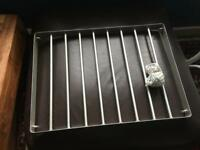 Metal ceiling rack for saucepans/utensils. Ideal for drying flowers etc