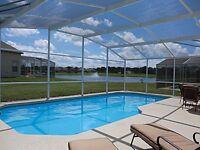 5 BEDROOM 3 BATHROOM HOLIDAY VILLA TO RENT NEAR DISNEYWORLD ETC IN FLORIDA
