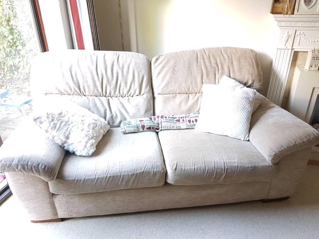 Sofa beige Marks & Spencer