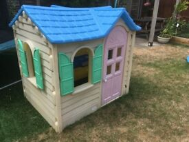 Plastics little tikes house