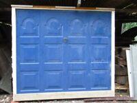 reclaimed garage door