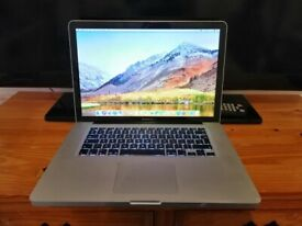 MacBook Pro 15 inches, i5, (Mid-2010) | 500GB SSD | 4GB | READ DESCRIPTION