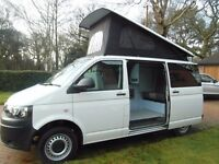 vw campervan 2015 T5 Transporter 4 Berth