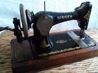 Vintage sawing machine