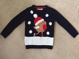 Kids Children's Christmas Jumper age 5 - 6 years