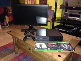 Xbox one with monitor