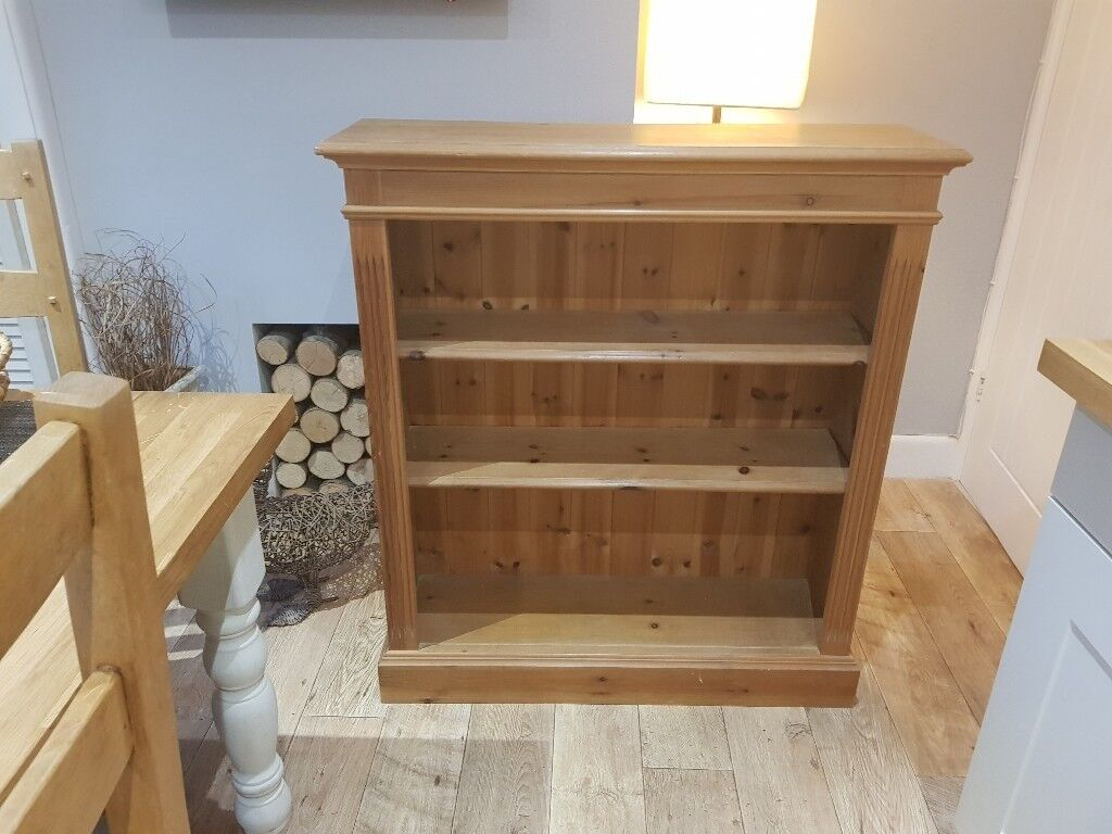 Quality Pine Bookcase
