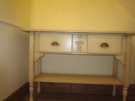 Consort table. Bernard Siguier. French country design. Suitable for dining room or kitchen.