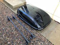 Golf mk7 Thule roof box & bars