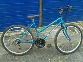 Apollo fever ladies mountain bicycle push bike