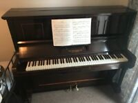 Piano - Classic upright, good condition for age, recently tuned