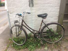 Vintage Raleigh Cameo Ladies Bicycle