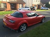 Mazda RX8 192BHP 2006 **Full year MOT**