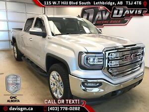 Used 2017 GMC Sierra 1500-SLT-Heated/Cooled Leather, Navigation
