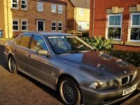 Excellent condition BMW 5 series, recently 1000£ repaired business car for quick sale Inside leather