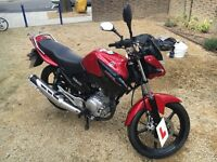 Yamaha YBR 125cc 2014, Only 1 owner from new, Great Condition