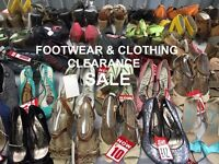 HUGE Clothing And Footwear Warehouse Sale Event - Prices From Just £1