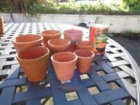 Very Small Terracotta Pots
