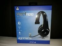 4GAMERS Pro-4 mono PS4 headset (BLACK)